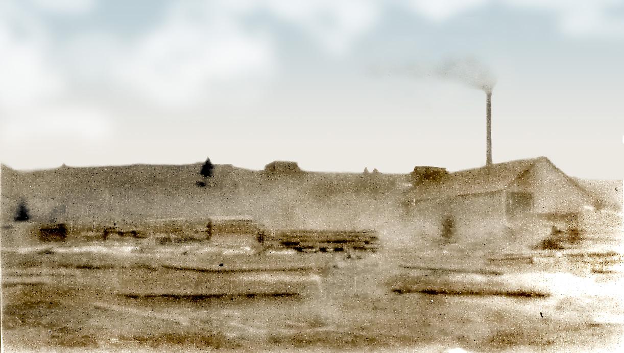 Ancien moulin à l\'extrémité ouest